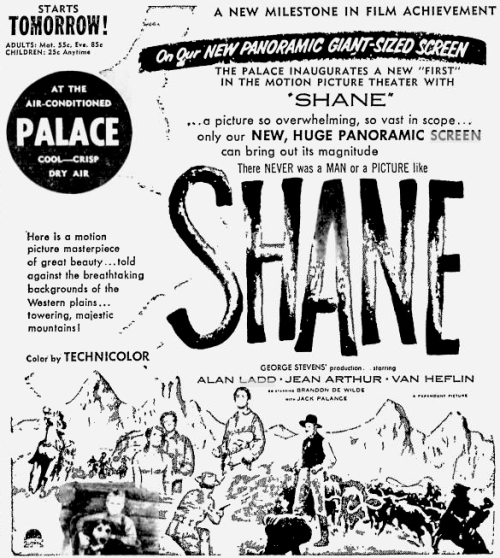 Shane Wide Screen ad