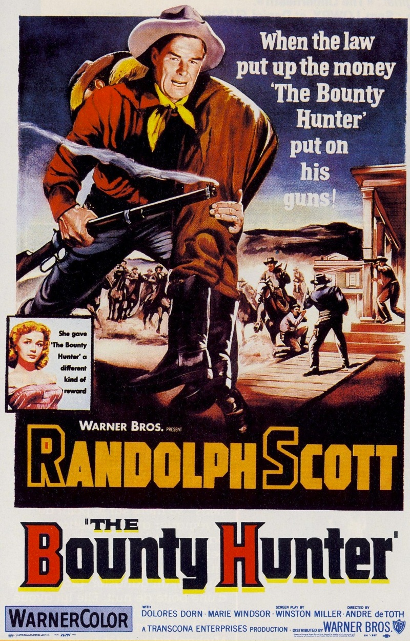 The Bounty Hunter 1954 50 Westerns From The 50s