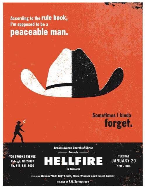 HELLFIRE at BACOC poster