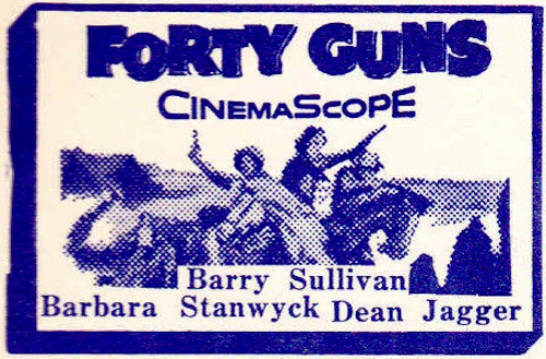 Forty Guns drivein detail
